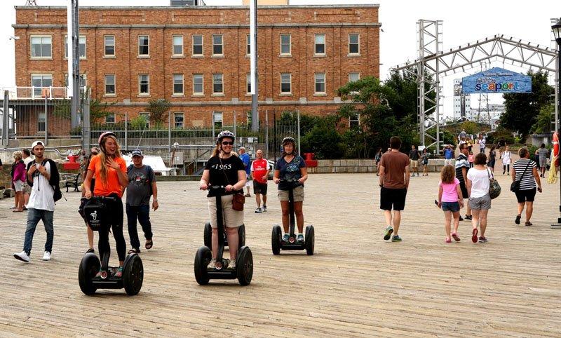 Segway riders at Halifax waterfront 2 copy